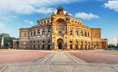 Monteurzimmer in Dresden - Semperoper