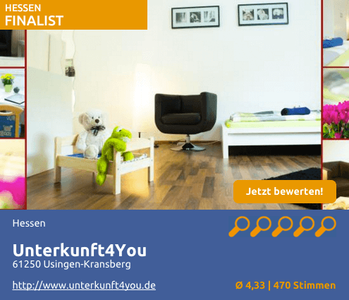 Unterkunft4You - mein-Monteurzimmer-des-Jahres.de