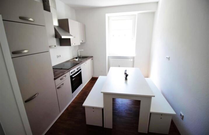 Küche in Neue Monteurwohnung am Würzburger Stadtrand